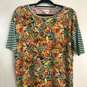 XS Lularoe Irma. Excellent condition, worn once!